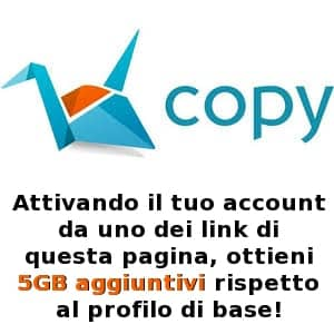 Copy - come funziona e a cosa serve