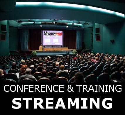 streaming conferenze meeting congressi aule virtuali